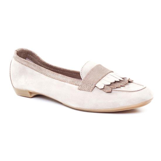 Mocassins Scarlatine 7540 Taupe Taupe, vue principale de la chaussure femme
