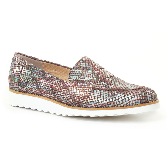 Mocassins Pintodiblu 10572 Beige, vue principale de la chaussure femme