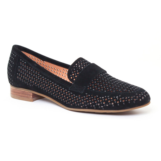 Mocassins Mamzelle Zar Noir, vue principale de la chaussure femme