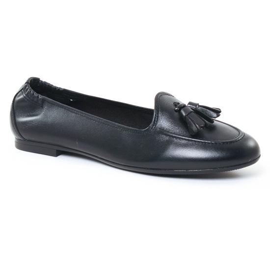 Mocassins Maria Jaen 4903 B Noir, vue principale de la chaussure femme