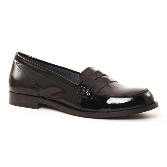 Mocassins Scarlatine 9489 Noir, vue principale de la chaussure femme