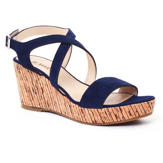 Nu Pieds Et Sandales Jb Martin Dayane Ocean, vue principale de la chaussure femme