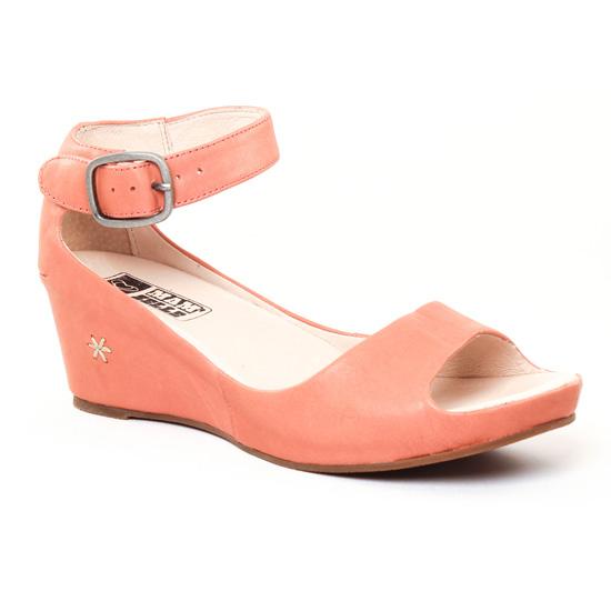 Nu Pieds Et Sandales Mamzelle Pantin Rose, vue principale de la chaussure femme