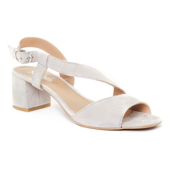 Nu Pieds Et Sandales Scarlatine 44501 Lino, vue principale de la chaussure femme