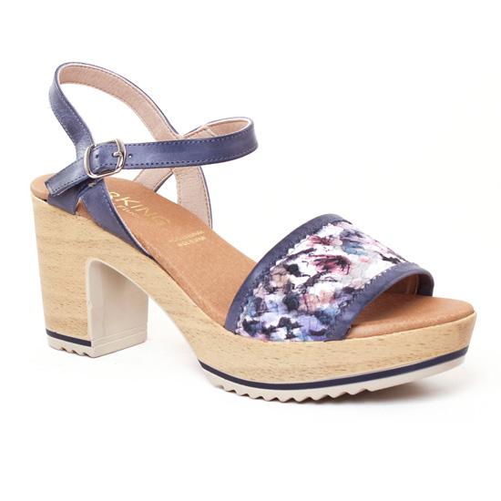 Sandales à talons DORKING cuir gris 37 BWI6PBry