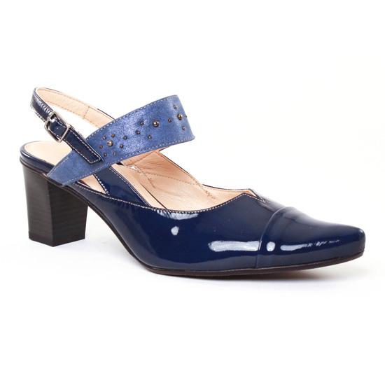 Escarpins Dorking Delta 6993 Marine, vue principale de la chaussure femme