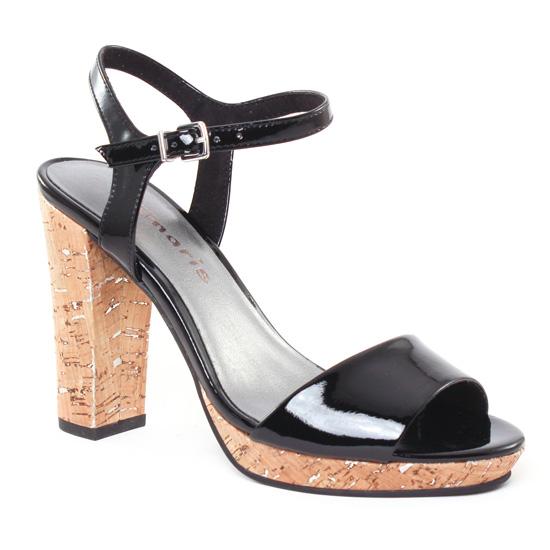 Nu Pieds Et Sandales Tamaris 28002 Black, vue principale de la chaussure femme