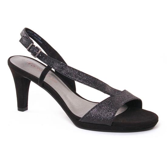 Nu Pieds Et Sandales Tamaris 28336 Black, vue principale de la chaussure femme
