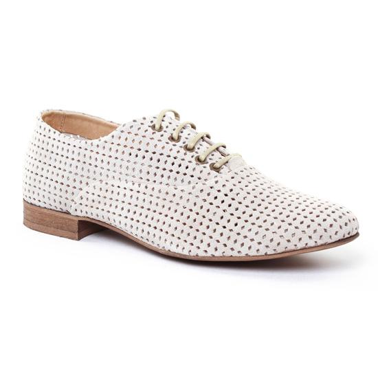 Chaussures À Lacets Axell Terry Sable, vue principale de la chaussure femme
