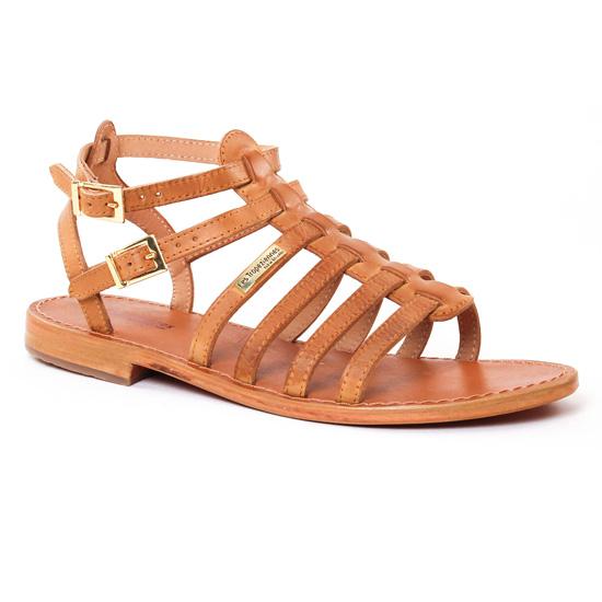 Nu Pieds Et Sandales Les Tropeziennes Hicare Miel, vue principale de la chaussure femme