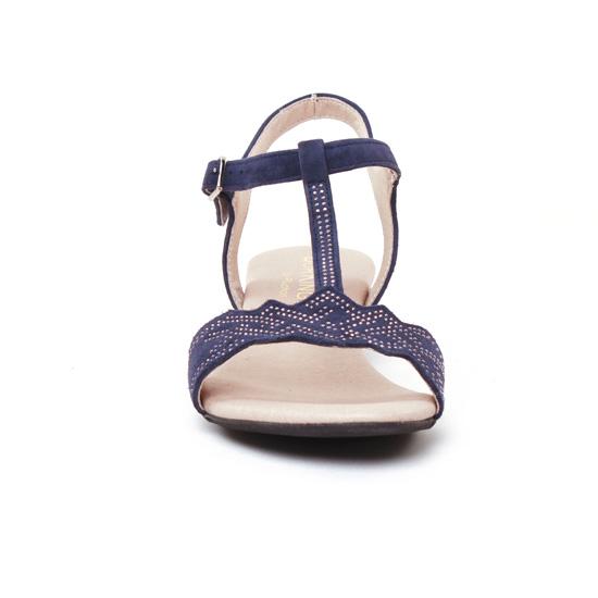 Dorking Olivia 7173   sandales bleu marine printemps été