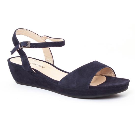 Nu Pieds Et Sandales Jb Martin Balti Encre, vue principale de la chaussure femme