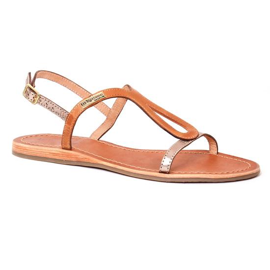Nu Pieds Et Sandales Les Tropeziennes Baba Miel Or, vue principale de la chaussure femme