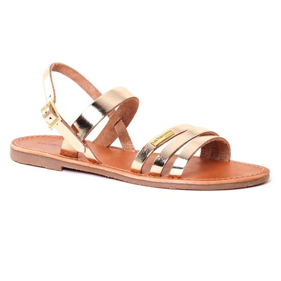 Nu Pieds Et Sandales Les Tropeziennes Baal Or, vue principale de la chaussure femme