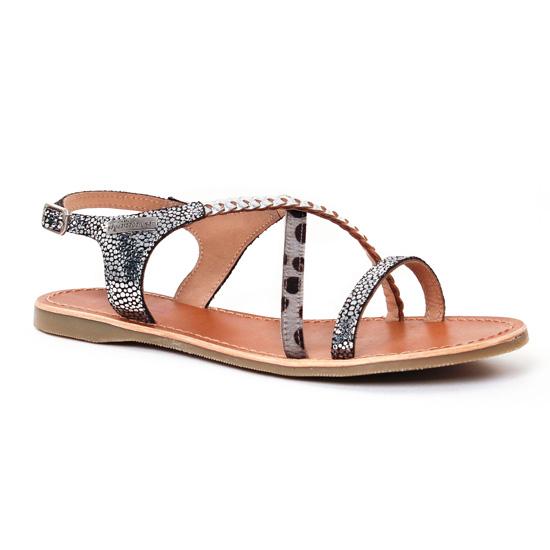Nu Pieds Et Sandales Les Tropeziennes Horse Argent Multi, vue principale de la chaussure femme