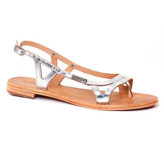 Nu Pieds Et Sandales Les Tropeziennes Isatis Argent, vue principale de la chaussure femme