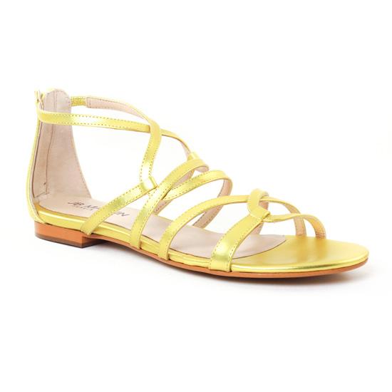 Jb Martin 1Anora Jaune | sandales jaune doré printemps été