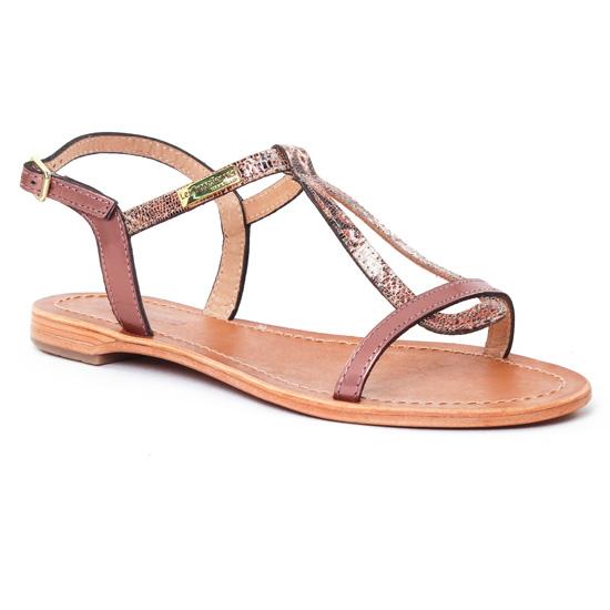 Nu Pieds Et Sandales Les Tropeziennes Hamat Cuivre Bronze, vue principale de la chaussure femme
