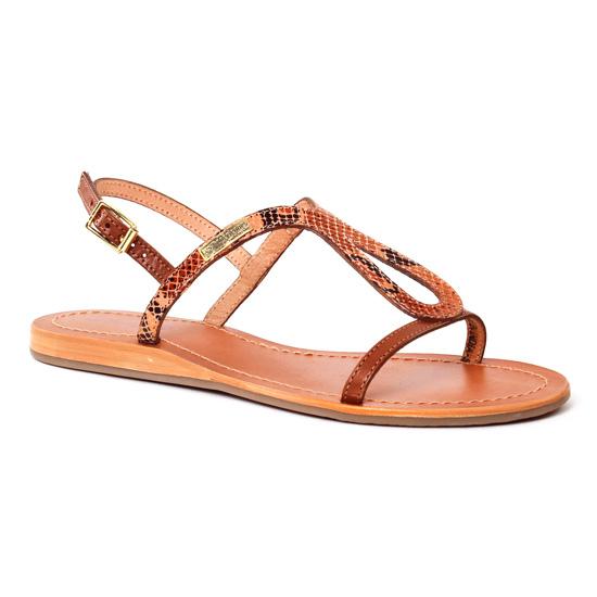 Nu Pieds Et Sandales Les Tropeziennes Baba Serpent Tan, vue principale de la chaussure femme