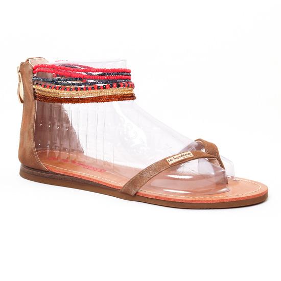 Nu Pieds Et Sandales Les Tropeziennes Ginkgo Tan, vue principale de la chaussure femme