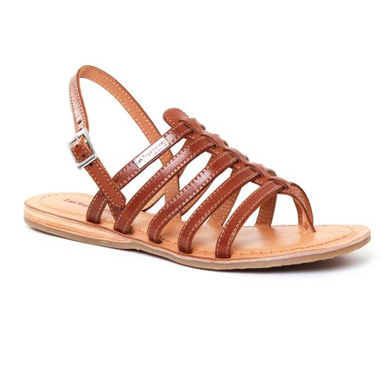 Nu Pieds Et Sandales Les Tropeziennes Heripo Tan, vue principale de la chaussure femme