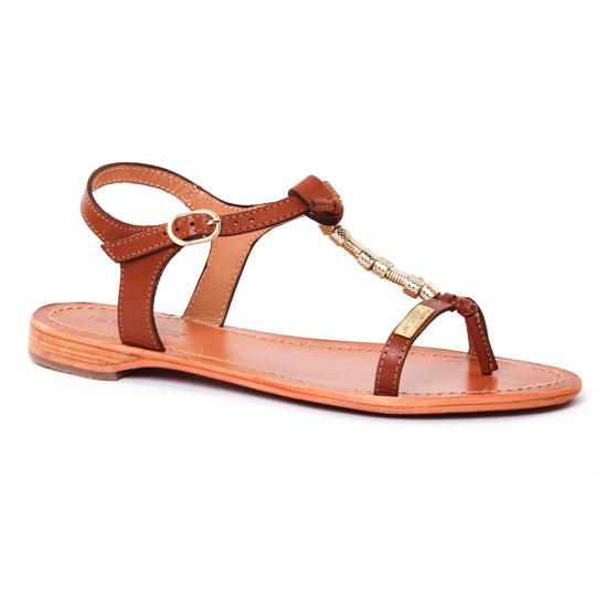 Nu Pieds Et Sandales Les Tropeziennes Vanille Tan, vue principale de la chaussure femme