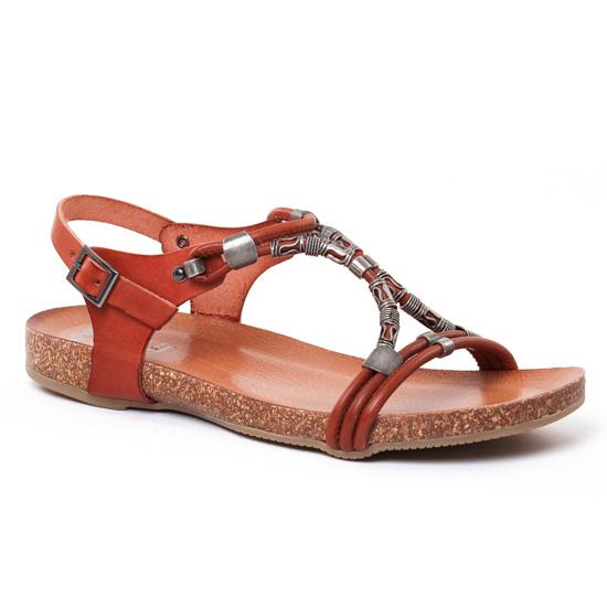 Nu Pieds Et Sandales Porronet 2217 Naturel, vue principale de la chaussure femme