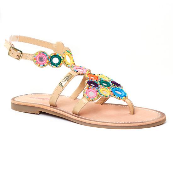 Nu Pieds Et Sandales Les Tropeziennes Opera Naturel, vue principale de la chaussure femme
