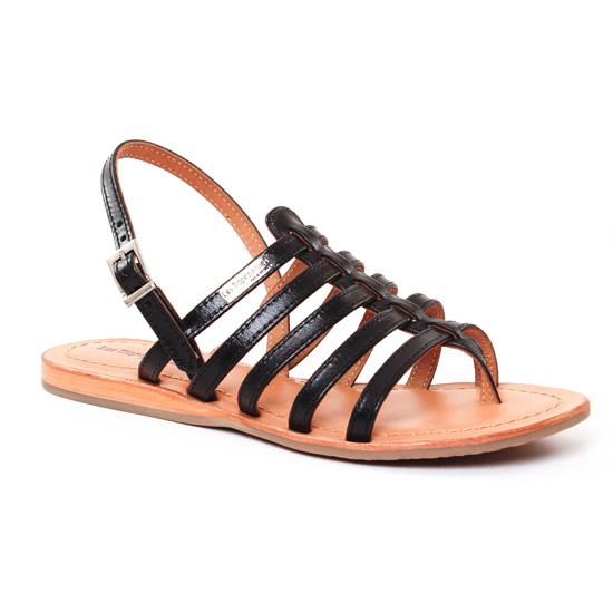 Nu Pieds Et Sandales Les Tropeziennes Heripo Noir, vue principale de la chaussure femme