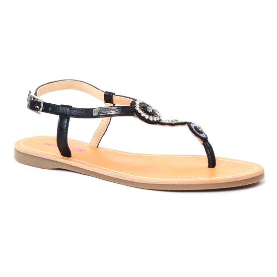 Nu Pieds Et Sandales Les Tropeziennes Orion Noir, vue principale de la chaussure femme