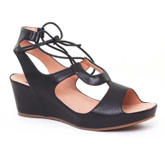 Nu Pieds Et Sandales Mamzelle Dolene Noir, vue principale de la chaussure femme