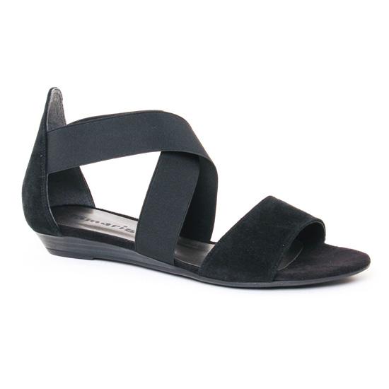Nu Pieds Et Sandales Tamaris 28180 Black, vue principale de la chaussure femme