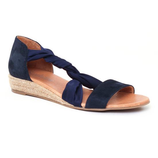 Espadrilles Scarlatine 44294 River Marine, vue principale de la chaussure femme