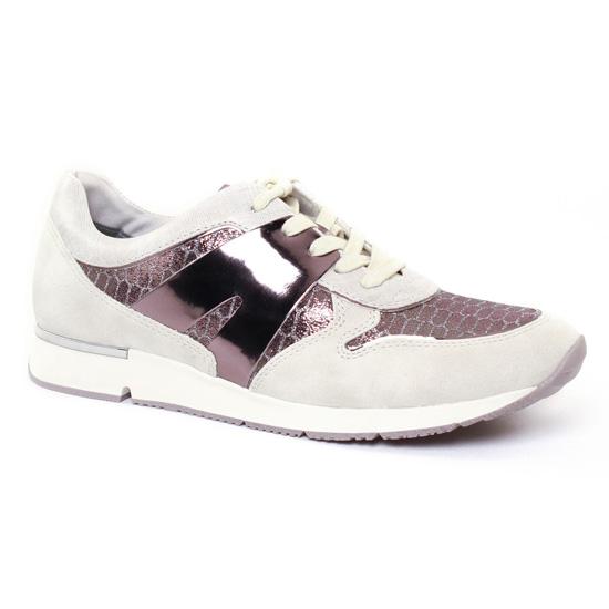 Tennis Et Baskets Mode Tamaris 23613 Shell, vue principale de la chaussure femme
