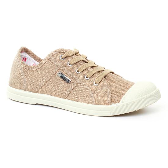 1397bf9aee Tennis Et Baskets Mode Les Tropeziennes Floride Or, vue principale de la  chaussure femme