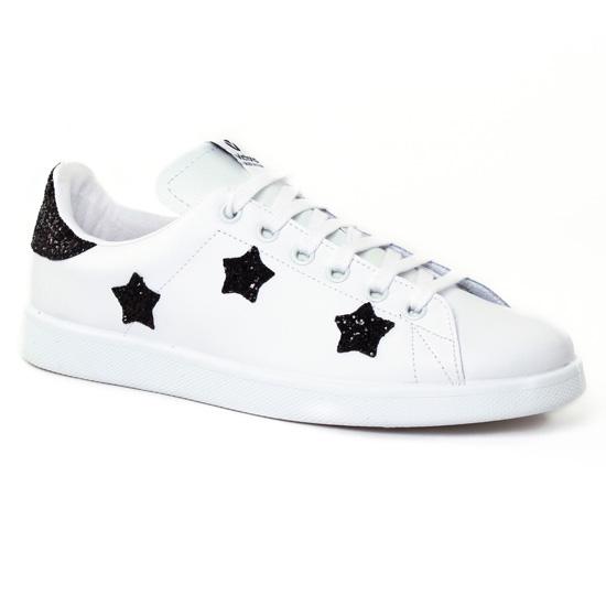 Tennis Et Baskets Mode Victoria Deportivo 125129 Noir, vue principale de la chaussure femme