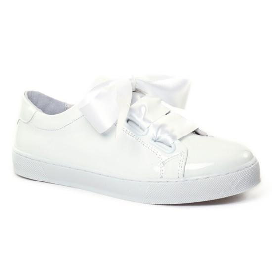 Tennis Et Baskets Mode Scarlatine 7723 Blanc, vue principale de la chaussure femme