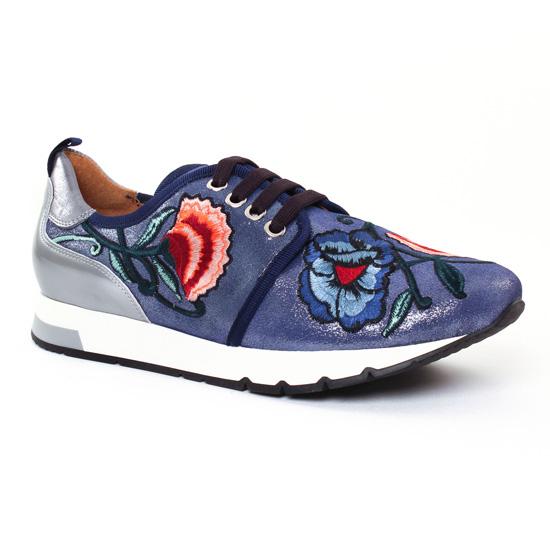 Tennis Et Baskets Mode Kanna 7286 Azul, vue principale de la chaussure femme