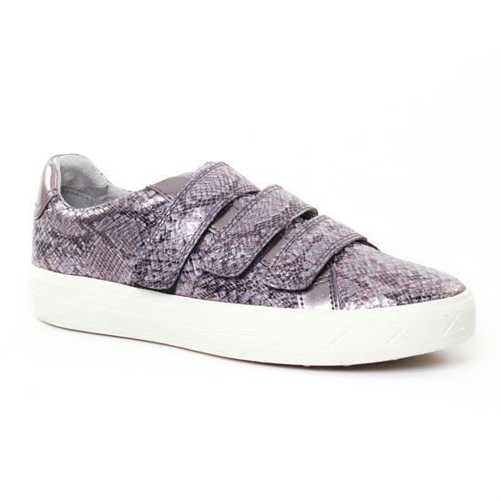 Tennis Et Baskets Mode Tamaris 24618 Grey, vue principale de la chaussure femme