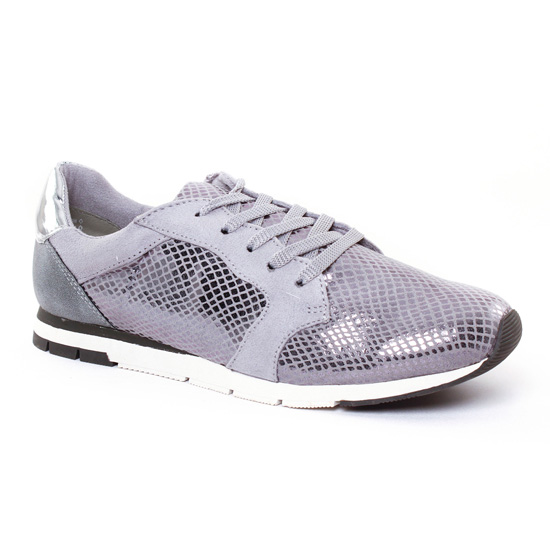 Tennis Et Baskets Mode Tamaris 23617 Grey, vue principale de la chaussure femme
