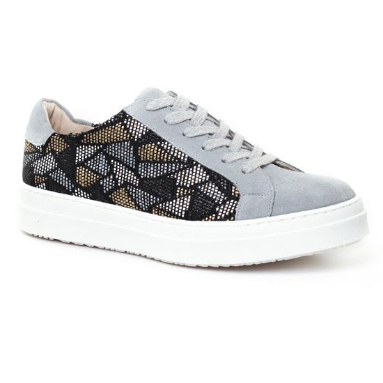 Tennis Et Baskets Mode Axell Alix Gris, vue principale de la chaussure femme