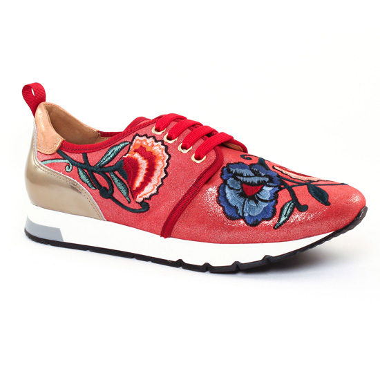 Tennis Et Baskets Mode Kanna 7286 Carmin, vue principale de la chaussure femme