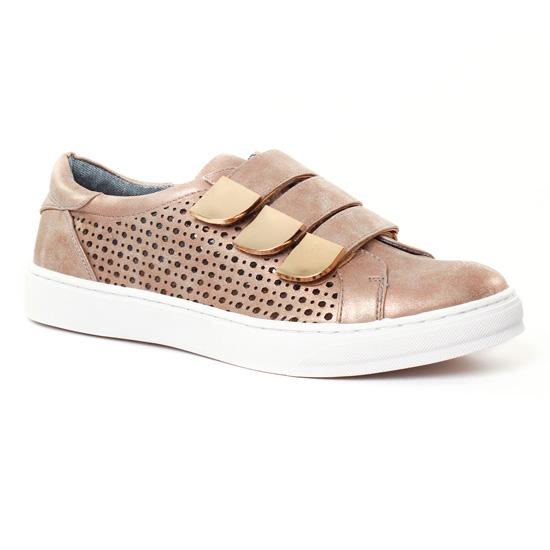 Tennis Et Baskets Mode Maria Mare 66667 Rose, vue principale de la chaussure femme