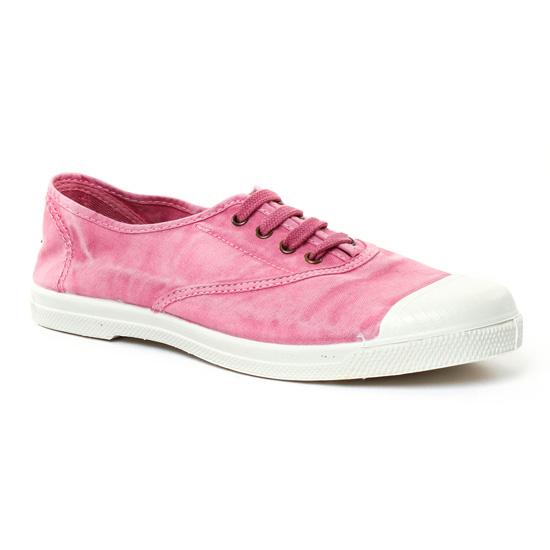 Tennis Et Baskets Mode Natural World 102 E Rose, vue principale de la chaussure femme