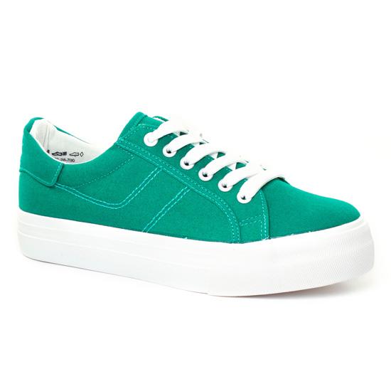 Tennis Et Baskets Mode Tamaris 23602 Green, vue principale de la chaussure femme