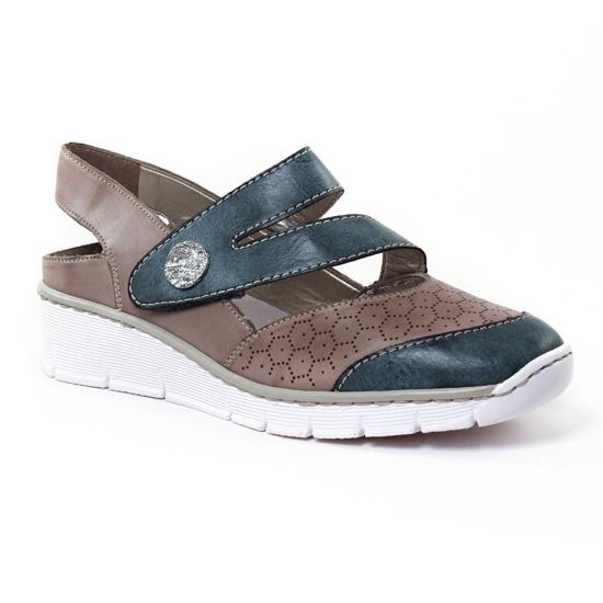 Babies Rieker 53785 Royal, vue principale de la chaussure femme