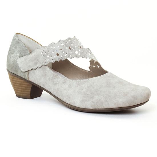 Babies Rieker 41796 Grey, vue principale de la chaussure femme