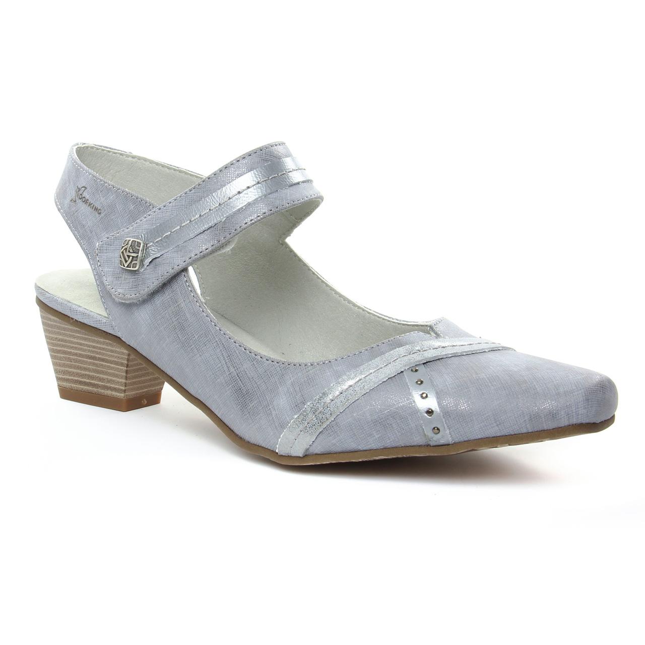 Chaussures à lacets Dorking grises Casual femme 16EtdFRFX