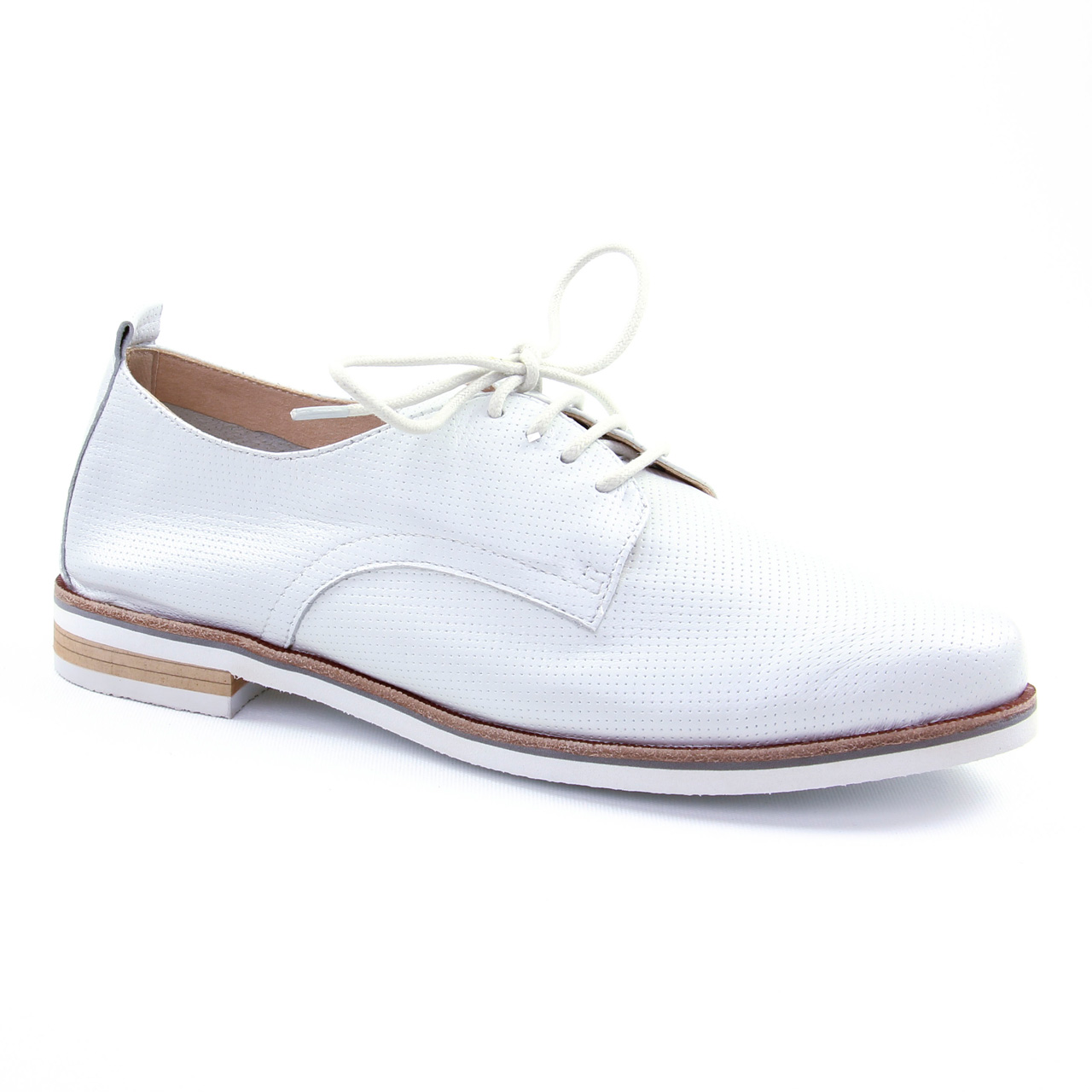 Chaussures à bout rond blanches Casual femme ZhC2xu