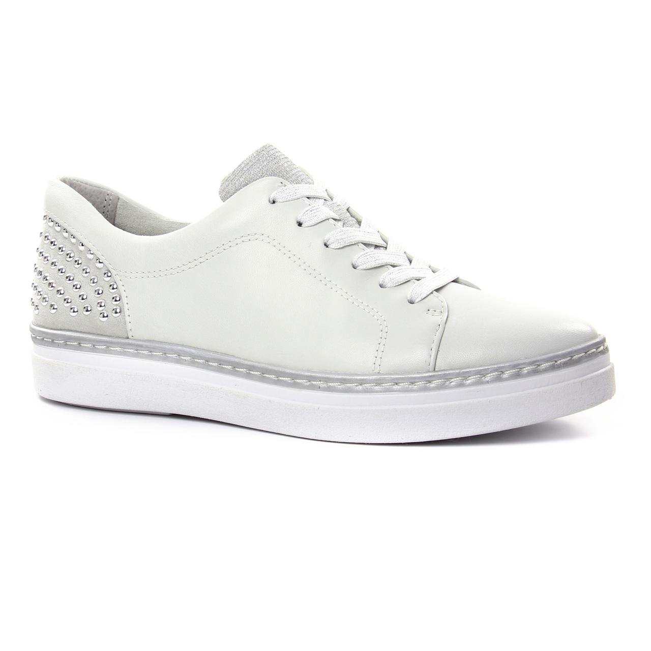 23743, Sneakers Basses Femme, Blanc (White), 40 EUTamaris